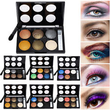 Fashion 6 Colour Makeup Eyeshadow Palette Shimmer Shining Make Up Set Cosmetic