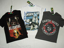 BNWT star wars / darth vader / trooper t-shirt / top.5-6,7-8,9-10,11-12yrs