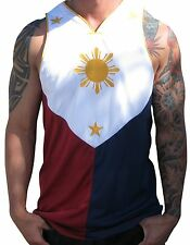 Filipino Flag Jersey Manny Pacquiao Shirt Philippines Small Medium Large Extra