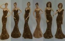 Simply Suede Lady Figurines by Leonardo Collection Birthday Gift Bnib