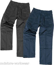 MENS BLUE CASTLE ACTION KNEE PAD COMBAT WORKWEAR TROUSERS GOOD QUALITY PANTS