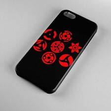 The Power of Sharingan Uchiha Clan Naruto Anime iPhone 5s 5 4S 4 Hard Case Cover