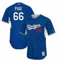 Los Angeles Dodgers Yasiel Puig #66 NEW Authentic Batting Practice Jersey