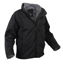 Mens Jacket - All Weather 3 in 1, Black by Rothco