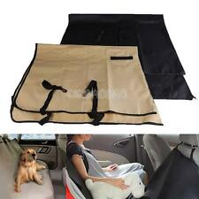 #gib Washable Linen Waterproof Pet Dog Cat Rear Back Seat Cover for Car Vehicle