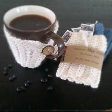 SALE Crochet Coffee Cozy - Cup warmer - coffee cozy -mug warmer many colors