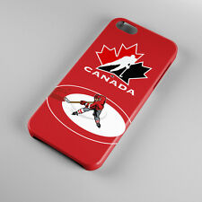 Hot New Team Canada Hockey For iPhone 5s 5 4S 4 Hard Case Cover