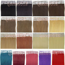 New 16 Inch 30g Skin Super Tape In Remy Human Hair Extension Straight More Color