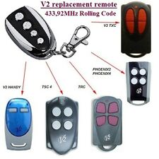 V2 Phoenix 2,Phoenix 4,Keyfob,Remote control transmitter Replacement 433,92Mhz