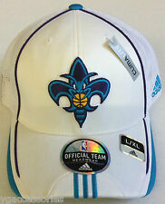 NBA New Orleans Hornets Mesh-back Pro Shape Flex Adidas Fitted Cap Hat NEW!