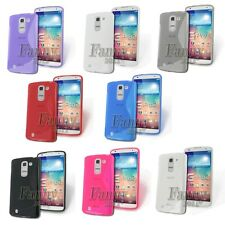 TPU Gel Rubber Silicone Case Cover Skin for LG G Pro 2, F350 +Screen Protector