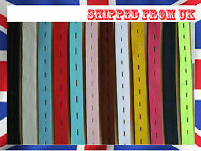 19 mm 3/4 Inch Button hole Elastic Strap FinishTape Dress Making Trouser Sewing