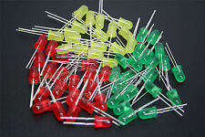 3mm/5mm LEDs Red/Blue/Green/Yellow/Orange Diffused Light LED Lamp Emitting Diode