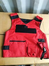 ABA Tactical Outer Carrier Red Firearms Instructor Trainer Vest