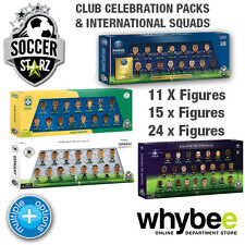 SOCCERSTARZ LARGE SQUAD PACKS - SQUAD COLLECTIONS INTERNATIONAL SOCCER STARZ NEW