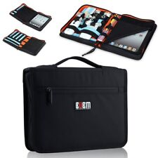 Tablet Case USB Flash Drive Cable Organizer Bag For Apple iPad 2 3 4 5 Air Mini