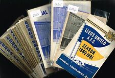 LEEDS UNITED Home Programmes 1964-65 to 1969-70 (99p each) Sale!