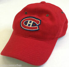 NHL Montreal Canadiens Vintage 80% Wool Mitchell and Ness Fitted Cap Hat M&N