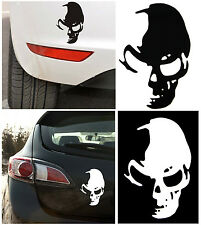 Cool Spirit Skull Vinyl Decal Sticker JDM For Car SUV Boat Truck Window