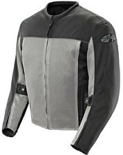 Joe Rocket Velocity Mesh Motorcycle Riding Jacket Gray Black Waterproof Liner
