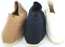SALE Mens Canvas shoes available in navy, cream and tan A1078