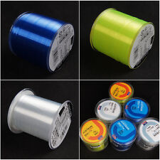 Fish WIRE Cable Tape Nylon Cord String Wire Beading Thread /Fishing Line 500m