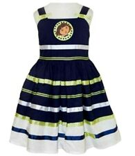 Dora the Explorer Party Dress Navy/White New Kids Girls Licensed