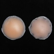 2 Kinds Skin Adhesive Silicone Reusable Breast Nipple Bra Cover Pad New