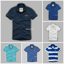 NWT HOLLISTER  MENS POLOS SHIRTS SIZE S, M, L, XL