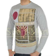 Soulstar Rising Sun Print City Of Japan Crew Neck Sweatshirt Top Mens Size