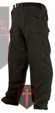 NEW US Army Style Mens Combat Cargo TROUSERS Black Highlander Military  TR001