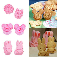 Cartoon Cookie Fondant Cake Sugar Mould Craft Decorating Cutter Mold DIY Tool