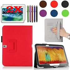 """Smartshell PU Leather Case Cover Bundles For Samsung Galaxy Tab Pro 10.1"""" Tablet"""
