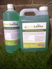 Artificial Lawn Fake Grass Cleaner Pet Odour Smell Stain Remover 5 litre bottle