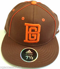 NCAA Bowling Green University Adidas Official Team Headwear Fitted Cap Hat NEW!