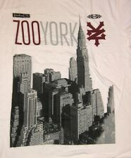"""Zoo York """"NYC PHOTO WHITE"""" Adult Men's T-Shirt Tee Brand New with Tags"""