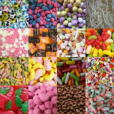FAVOURITE SWEET SHOP RETRO SWEETS CANDY KIDS PARTY BAG PICK N MIX 100grms to 3kg