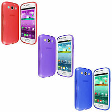For Samsung Galaxy S3 S 3 III I9300 TPU Candy Hard Skin Silicone Gel Case Cover