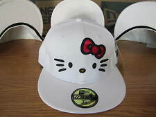 Hello Kitty New Era Fitted 5950 Hat Brand New Rare Japan -  White NWT