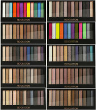 Revolution MakeUp Eyeshadow palette Bright,Smoked ALL Shades (Naked Dupe)
