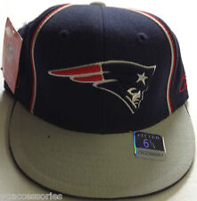 NFL New England Patriots Reebok Fitted Hat Cap NEW!!