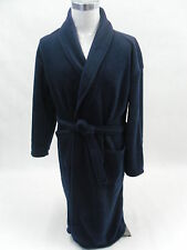 Mens Fleece Robe Navy Thermal Dressing Gown Super Soft * BRAND NEW *