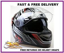 **NEW LAUNCH** Viper RS-V9 Dimension Red Black Motorcycle Motorbike Helmet