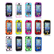 CHEAP~Soft Silicone Hard Snap On Back Protector Case Cover For Apple iPhone 5C