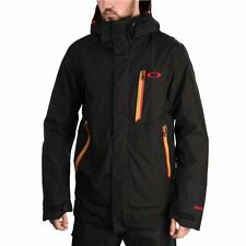 OAKLEY ALLIED JACKET JET BLACK NEW FW 2014 GORE-TEX S M L XL GIACCA SNOWBOARD