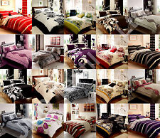 Super king size quilt cover duvet cover bedding sets with pillowcases
