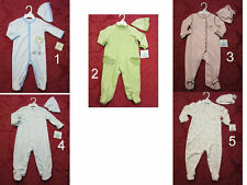 NWT Little Me Baby boy/Girl Outfit Coverall jumpsuit footer Hat Set SiZe 6,9 MO