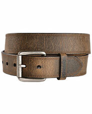 New Ariat Men's Work Tri Stitch Western Leather Belt & Buckle-Age Bark A10011713