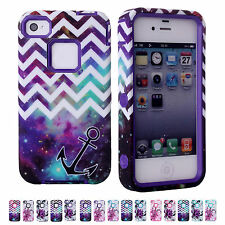 HOT DEAL CHEAP PC Silicon Protective Hard Case Cover Shell For Apple iPhone 4 4S