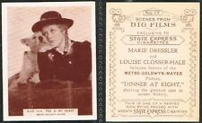 Ardath - Scenes From Big Films 1935 #1 to #50 Medium Size Movie Cigarette Cards